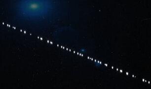 República Dominicana: registran misteriosas luces en el cielo y causan asombro entre la población