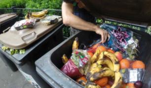Colegio tiró a la basura almuerzo de alumnos que tenían deudas