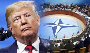 Donald Trump confirma asistencia a reunión de la OTAN en el Reino Unido