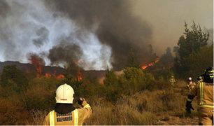 Chile: incendio forestal arrasó con más de 100 hectáreas de reserva nacional