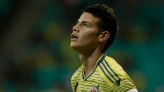 OFICIAL: James Rodriguez no jugará ante Perú