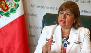Zulema Tomás renunció al cargo de ministra de Salud