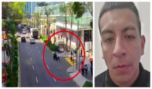 San Isidro: delincuente que robó en calle Las Begonias es detenido por cuarta vez