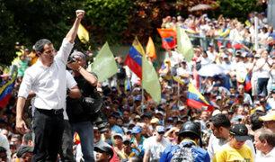 """Guaidó llama a protesta permanente: """"La lucha es hasta lograr elecciones libres"""""""