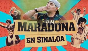 "Maradona en Sinaloa: se estrena documental en Netflix del ""10"" argentino"