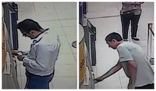 Surco: colocan 'regleta' en cajero de conocido supermercado para robar dinero