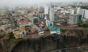 Costa Verde: siguen construyendo pese a declaratoria de emergencia