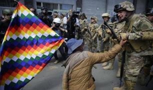 """Bachelet: Policías y militares de Bolivia están haciendo """"uso desproporcionado de la fuerza"""""""
