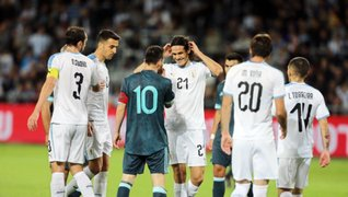 VIDEO: Argentina empató 2-2 ante Uruguay