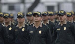 Mininter: 7 mil policías se incorporarán para reforzar seguridad ciudadana