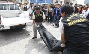 Huancayo: agricultor fue hallado muerto en acequia ubicada cerca a su vivienda