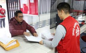 Jurado Electoral Especial: partidos inscriben listas de candidatos al Congreso