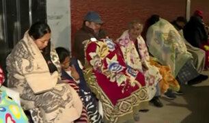 El Agustino: padres se amanecen haciendo colas para conseguir vacantes en colegio