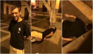 Habla mendigo brutalmente agredido: Me ofrecieron dinero a cambio de cachetada