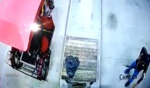 Yurimaguas: cámaras captan violento asalto a trabajador de grifo