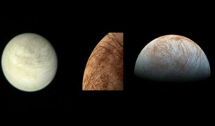 NASA: detectan existencia de vapor de agua en Luna de Júpiter