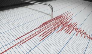 Sismo de magnitud 4.9 se registró esta tarde en Apurímac