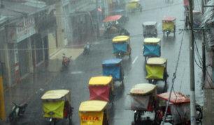 Selva peruana registrará intensas precipitaciones hasta el jueves