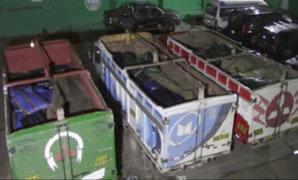 Incautan 15 toneladas de acetona destinados a la elaboración de droga en el VRAEM