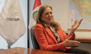 Presidenta de Confiep: No aportamos dinero a campañas políticas ni avalamos candidatos