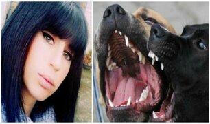 Mujer embarazada muere tras brutal ataque de perros violentos