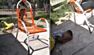 La brutal golpiza de una madre a su hijo: ''te voy a dejar en coma''