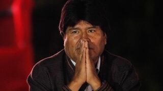 """Evo Morales viajó """"en estricta reserva"""" a Cuba"""