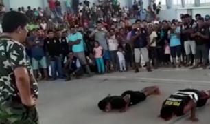 Oxapampa: ronderos capturan a policías acusados de extorsión