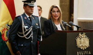 Bolivia: presidenta interina Jeanine Áñez presentó proyecto de ley para convocar a elecciones