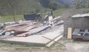 Apurímac: incendian campamento minero en Curasco