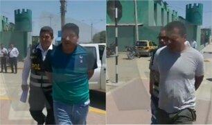 Piura: detienen a policías implicados en presunta venta de moto robada