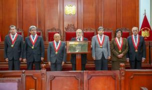 Nuevo presidente del Tribunal Constitucional sería elegido el 2 de diciembre