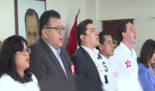 Partido aprista presentó a sus candidatos al Congreso 2020