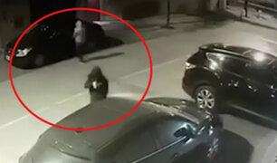 Surco: asaltan en simultáneo a dos conductores en las puertas de sus viviendas