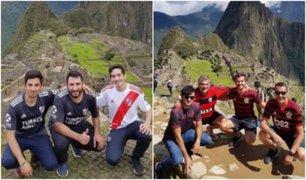 Copa Libertadores: Hinchas del Flamengo y River hacen pausa para conocer Machu Picchu