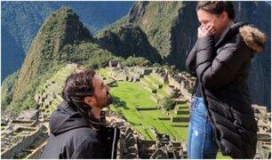 Baterista de Slipknot le propuso matrimonio a su novia en Machu Picchu