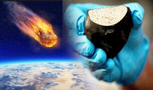 NASA halló azúcar en meteoritos que se estrellaron hace millones de años