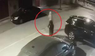 Surco: comisaría de Monterrico investiga asalto simultáneo a conductores