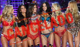 Victoria´s secret cancela oficialmente su desfile de lencería para 2019