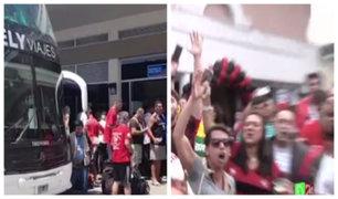 Hinchas de River Plate y Flamengo llegan al Perú por carretera para la final de la Copa Libertadores