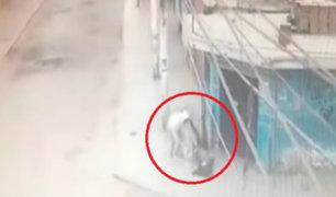 Cañete: mujer frustró ser asaltada con patadas al aire