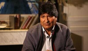 Bolivia: Fiscalía admitió demanda contra Evo Morales