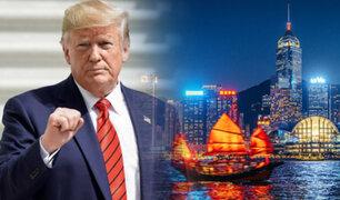 """Donald Trump asegura que salvó a Hong Kong de """"ser borrado"""""""