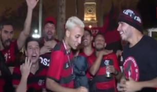 Copa Libertadores 2019: Hinchas de Flamengo tomaron las calles de Barranco en la víspera de la final