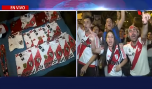 Copa Libertadores: Hinchas de River Plate armaron la fiesta en el parque Kennedy