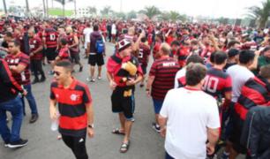 Flamengo vs. River: hinchas llegan al Monumental para final de la Libertadores