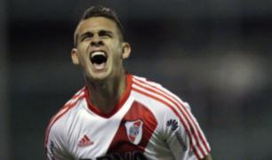Flamengo vs River: el golazo de Borré que abrió el marcador a los 14