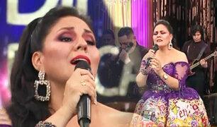 """Dina Paucar celebra su aniversario en """"Porque hoy es sábado con Andrés"""""""