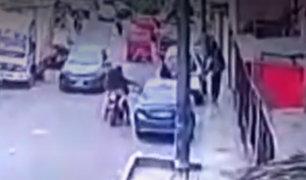 SJL: empresario fue asesinado a balazos cuando iba a dejar a sus hijos al colegio