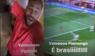VIDEO | Copa Libertadores: así celebró Neymar la victoria del Flamengo